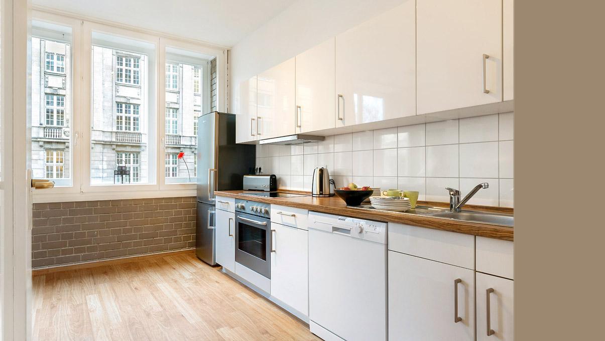 küche ferienwohnung berlin