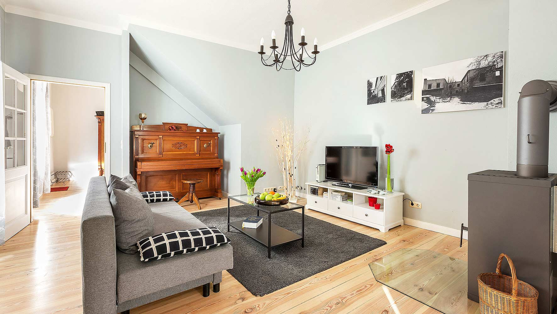 fotos für ferienwohnung wohnzimmer