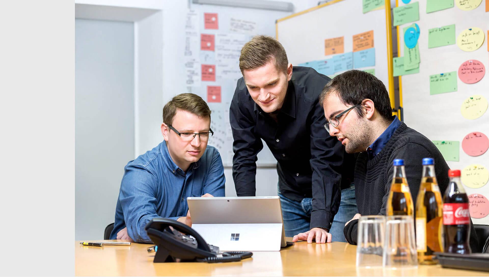 team-IT-besprechung